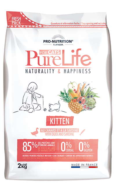 Flatazor CAT PureLife Kitten 400g